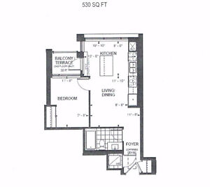 1 Bedroom Condo on Yonge St in Richmond Hill - Assignment