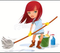 19 an hour spring cleaning!