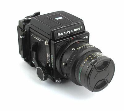 Mamiya RB67 PRO SD 90mm F3.5KL 120 FILM BACK SD Exc+