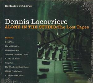 Dennis Locorriere(CD/DVD Album)Alone In The Studio/The Lost Tapes-CRIDE-New