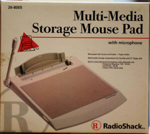Multi-Media Storage Mouse Pad (with microphone)