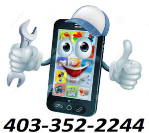 CELL PHONE REPAIR & UNLOCK CALL 403-352-2244