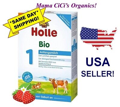 *** FREE EXPEDITED SHIPPING! *** Holle Organic Stage 1 Baby Infant Formula