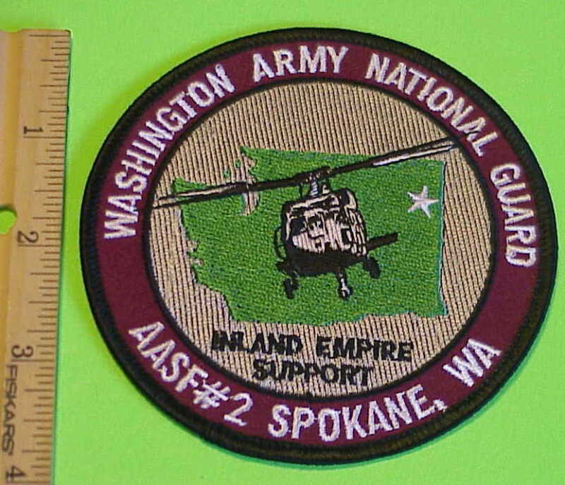 WASHINGTON ARMY NATIONAL GUARD SPOKANE, WA   AASF #2 INLAND EMPIRE SUPPORT PATCH
