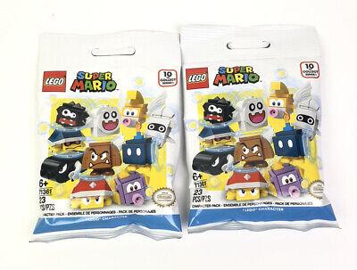Lot of 2 Lego Packs 71361 Super Mario Blind Bag Mystery Figure 2020 NEW Nintendo