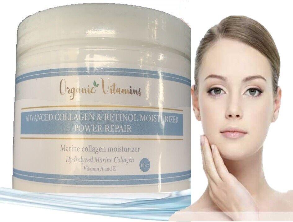 Colageno Hidrolizado Para Huesos ,Uñas, Piel + Crema de Colageno Antiarrugas 120 4