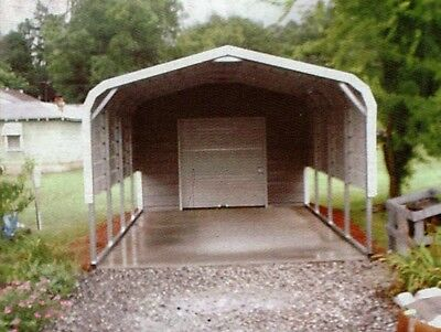 Storage Buildingcarport Cover 12 X 26 Free Install. Nation-wide Prices Vary
