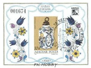 Hungary 1985 Mi BL 181 B # Day of Stamp China Porzellan Porcelain Flowers Blumen - <span itemprop='availableAtOrFrom'> Dabrowa, Polska</span> - Hungary 1985 Mi BL 181 B # Day of Stamp China Porzellan Porcelain Flowers Blumen -  Dabrowa, Polska