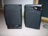 Sony Speaker System. Model SS-CN12. 3 speakers max input power 70w.