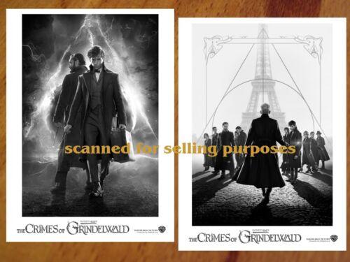 Fantastic Beasts 2 Crimes Of Grindelwald - rare PRESS PHOTO SET of 40 B&W Stills
