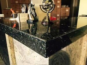 GRANITE,QUARTZ ISLANDS, VANITIES,COUNTERTOPS FOR SALES, FREE SINK!