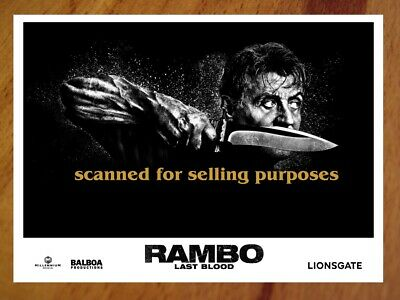 RAMBO LAST BLOOD rare press PHOTO SET of 40 Stills SYLVESTER STALLONE Rambo V 5