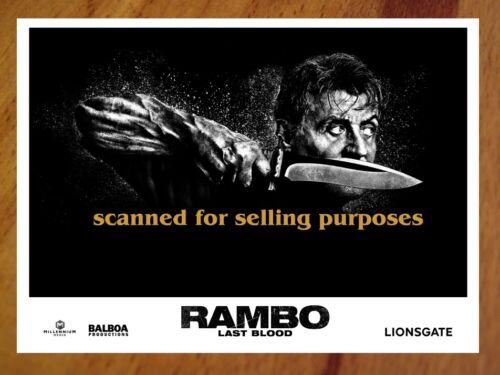 RAMBO LAST BLOOD rare press PHOTO SET of 40 Stills SYLVESTER STALLONE Rambo V 5