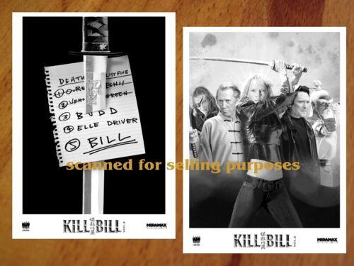 KILL BILL Vol.2 rare PRESS PHOTO SET 40 B&W Stills QUENTIN TARANTINO Carradine