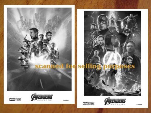 AVENGERS ENDGAME rare PRESS PHOTO SET 50 B&W Stills IRON MAN Marvel HULK Photos