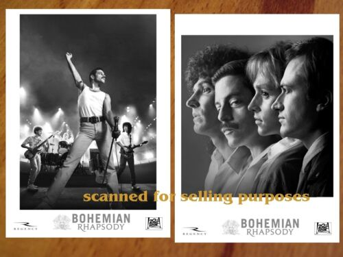 BOHEMIAN RHAPSODY Movie rare PRESS PHOTO SET 30 B&W Stills Freddy Mercury QUEEN