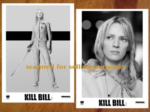 KILL BILL Vol.1 rare PRESS PHOTO SET 40 B&W Stills QUENTIN TARANTINO Uma Thurman