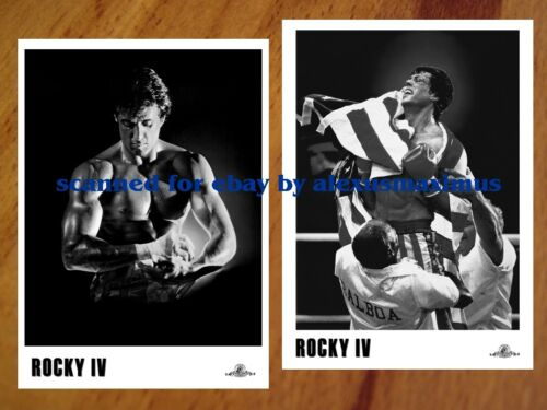 ROCKY IV B&W Photo Set of 30 SYLVESTER STALLONE Sly DOLPH LUNDGREN Ivan Drago 4