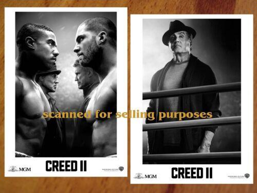 CREED 2 rare PRESS PHOTO SET of 35 Pic SYLVESTER STALLONE Rocky MICHAEL B JORDAN
