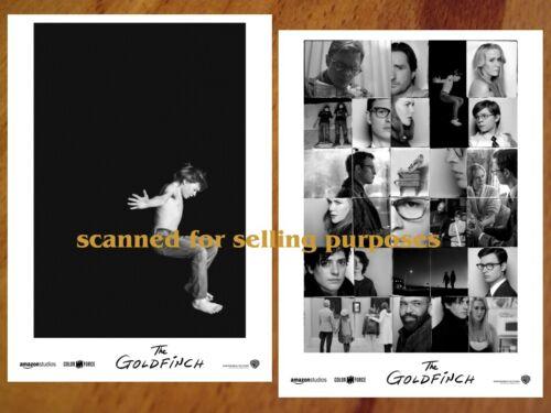 THE GOLDFINCH rare press PHOTO SET of 35 Stills ANSEL ELGORT Nicole Kidman
