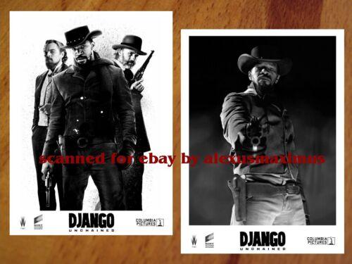 DJANGO UNCHAINED rare PRESS PHOTO SET 40 B&W Stills QUENTIN TARANTINO DiCaprio