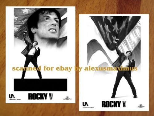 ROCKY V B&W Photo Set of 30 SYLVESTER STALLONE SAGE STALLONE Tommy Morrison 5