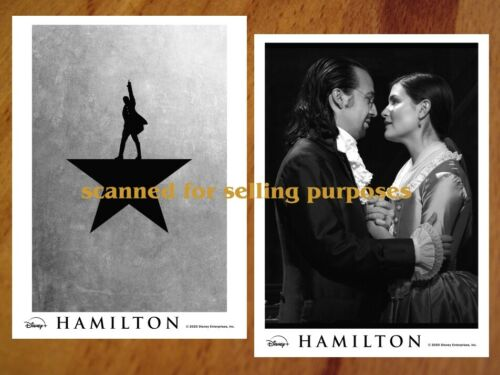HAMILTON rare PRESS PHOTO SET of 35 Photos Disney + BROADWAY Lin-Manuel Miranda