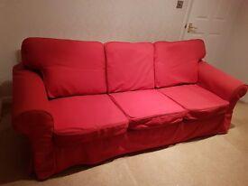 3 + 2 seater IKEA Ektorp sofas £200 ONO.