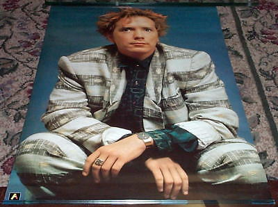 JOHN LYDON Johnny Rotten 1986 Sex Pistols Vintage Poster