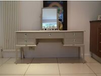 Stag Minstrel Dressing Table and Stag Freestanding Mirror