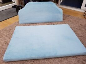 Headboard/handmade large cushion