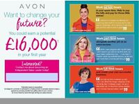 interested in becoming an avon rep?