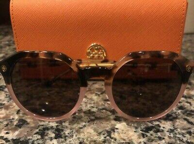 Authentic Tory Burch 0TY 7130 175473 BLUSH TORTOISE / BLUSH (Blush Sunglasses)
