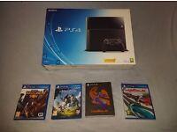 Original 500GB PS4 + 3 Games