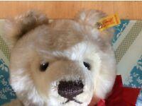 AUTHENTIC VINTAGE STEIFF TEDDY BAR TEDDY BEAR W/ TAGS 0203/41 GERMANY