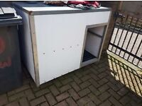 XL GALVANISED DOG KENNEL BOX CAN DELIVER