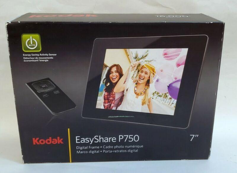 Kodak EasyShare P750 7-inch Digital Picture Frame Open Box NIB