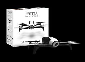 Parrot Bebop 2 Drone w/ Sky controller & FPV goggles. Full HD Drone. New in box with receipt.