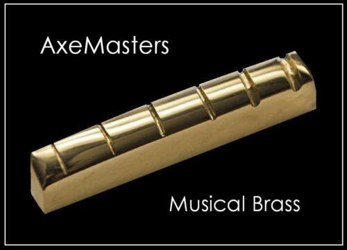 """AxeMasters """"STANDARD SIZE"""" BRASS NUT made for EPIPHONE Guitar Les Paul SG 335..."""