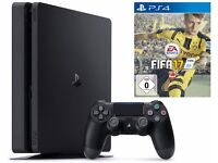 Playstation Ps4 slim 500GB + FIFA 17 + Uncharted 4 + One wireless controller