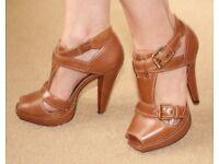 Kurt Geiger Boheme Leather Shoes New in Box