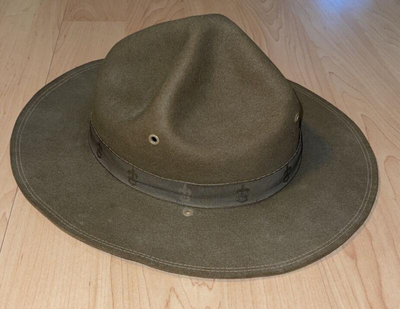 Vintage 1935 Boy Scout hat, size 7 1/4 - Boy Scouts Of America - 100% Authentic