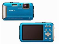 Panasonic Lumix DMC-FT25EB /16.1MP/Waterproof /Shockproof/Freeze-Proof/FOR CASH OR SWAPS