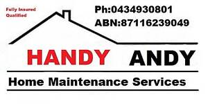 Handy Andy The Handy Man Brooklyn Park West Torrens Area Preview