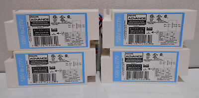 X4 New Philips 120- 277v Led Electronic Driver Ballast Le Te Dimmable 20w