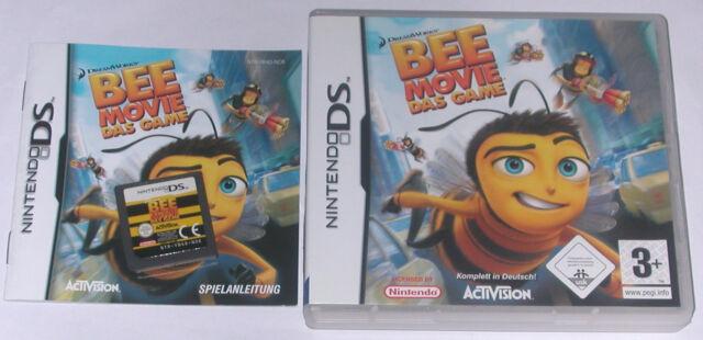 Spiel: BEE MOVIE Kinderspiel für den Nintendo DS + Lite + Dsi + XL + 3DS + 2DS