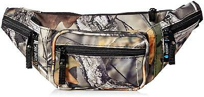 Forest Camo Water Resistant FANNY PACK Camouflage Waist Bag Tree Hunting Belt