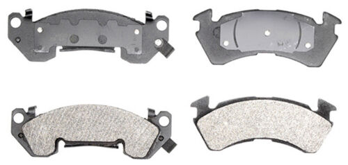 Disc Brake Pad Set-Ceramic Front ACDelco Pro Brakes 17D614C