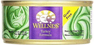 Wellness Grain Free Complete Health Turkey Formula 5.5 Oz Cans 24 Pack 08/2018