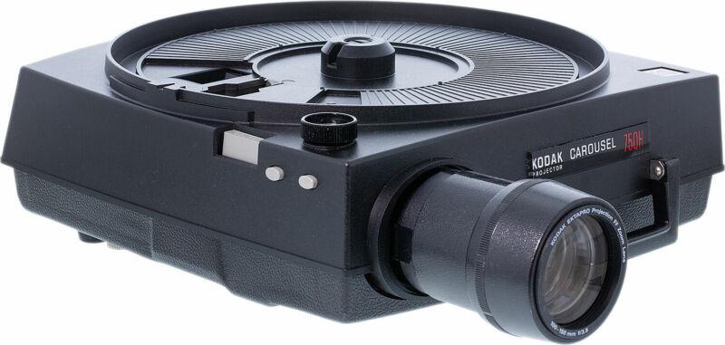 Kodak 750H Carousel Slide Projector (Refurbished) w/Zoom Lens & Remote
